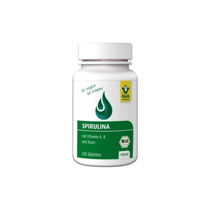 SPIRULINA Tabletten, Bio