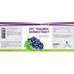 OPC Traubenkernextrakt hochdosiert 900mg mit Vitamin C