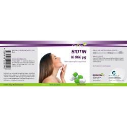 Biotin 10.000 mcg (Vitamin B7)