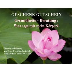 Geschenk Gutschein...